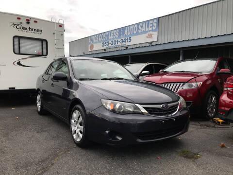 2009 Subaru Impreza for sale at Autos Cost Less LLC in Lakewood WA