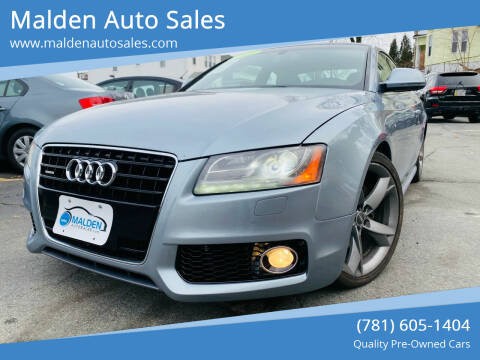 2009 Audi A5 for sale at Malden Auto Sales in Malden MA
