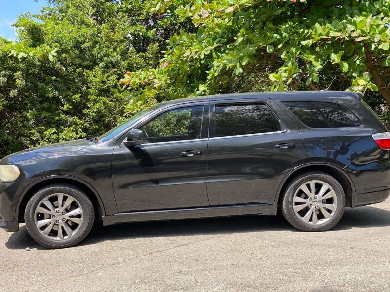 2012 Dodge Durango for sale at HIGH PERFORMANCE MOTORS in Hollywood FL