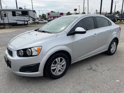 2016 Chevrolet Sonic for sale at Modern Automotive in Boiling Springs SC