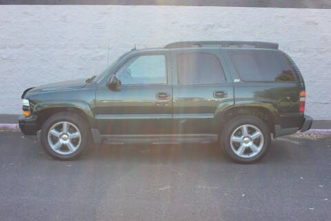 2003 Chevrolet Tahoe for sale at Al Hutchinson Auto Center in Corvallis OR
