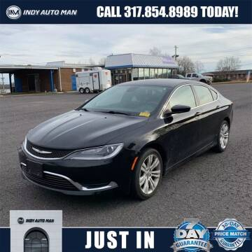 2015 Chrysler 200 for sale at INDY AUTO MAN in Indianapolis IN