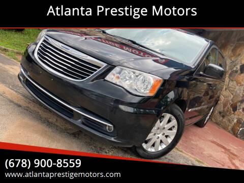 2015 Chrysler Town and Country for sale at Atlanta Prestige Motors in Decatur GA