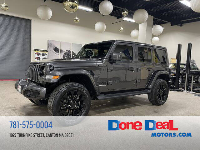 2020 Jeep Wrangler Unlimited for sale at DONE DEAL MOTORS in Canton MA