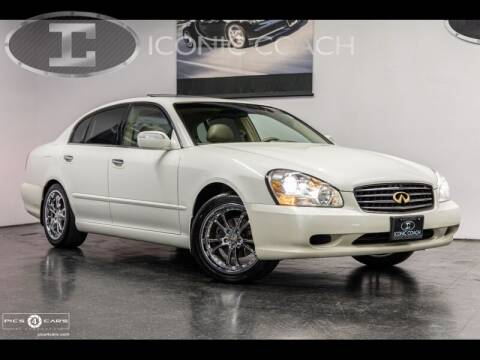 2002 Infiniti Q45 for sale at Iconic Coach in San Diego CA