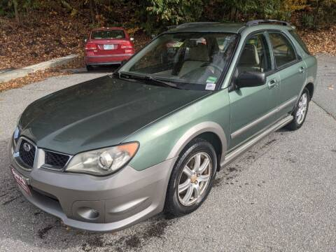 2006 Subaru Impreza for sale at AUTO CONNECTION LLC in Springfield VT