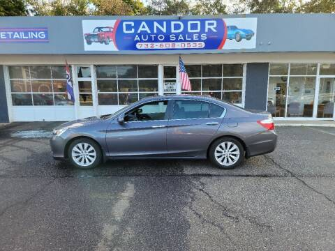 2013 Honda Accord for sale at CANDOR INC in Toms River NJ