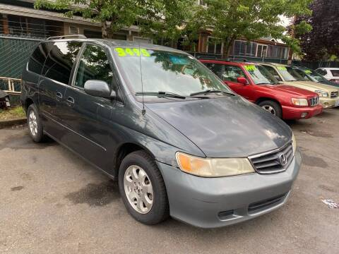 2003 Honda Odyssey for sale at Blue Line Auto Group in Portland OR