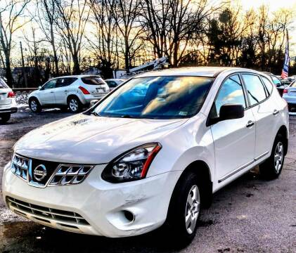 2014 Nissan Rogue Select for sale at Abingdon Auto Specialist Inc. in Abingdon VA