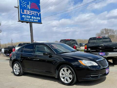 2012 Chrysler 200 for sale at Liberty Auto Sales in Merrill IA