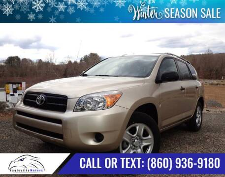 2007 Toyota RAV4 for sale at EAGLEVILLE MOTORS LLC in Storrs CT