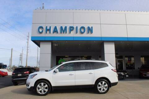 2017 Chevrolet Traverse for sale at Champion Chevrolet in Athens AL
