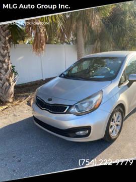 2012 Kia Rio for sale at MLG Auto Group Inc. in Pompano Beach FL