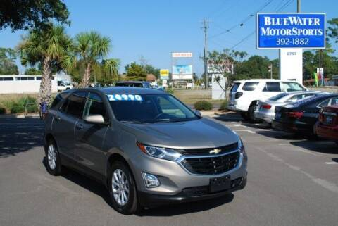 2018 Chevrolet Equinox for sale at BlueWater MotorSports in Wilmington NC