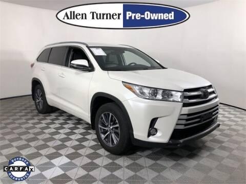 2018 Toyota Highlander for sale at Allen Turner Hyundai in Pensacola FL