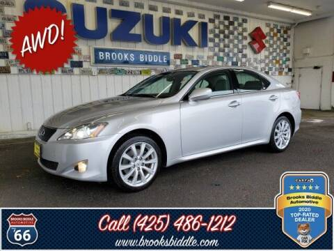 2008 Lexus IS 250 for sale at BROOKS BIDDLE AUTOMOTIVE in Bothell WA