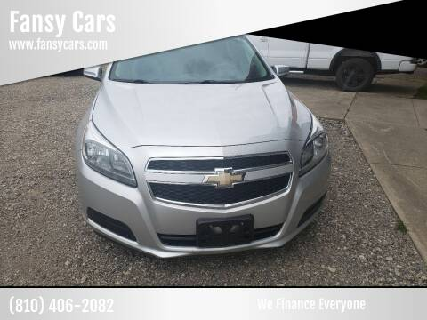 2013 Chevrolet Malibu for sale at Fansy Cars in Mount Morris MI