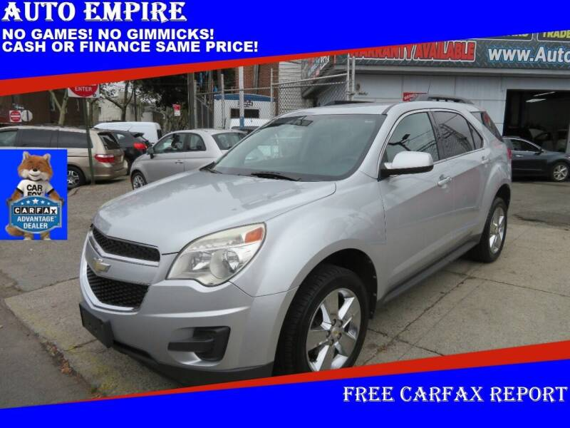 2012 Chevrolet Equinox for sale at Auto Empire in Brooklyn NY