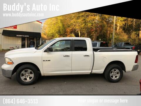 2010 Dodge Ram Pickup 1500 for sale at Buddy's Auto Inc in Pendleton SC