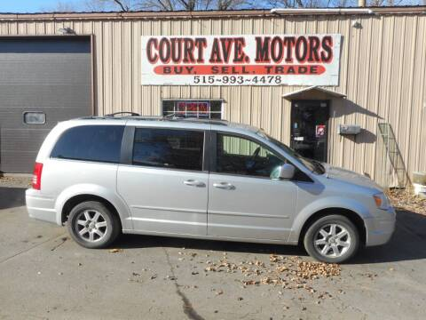 2008 Chrysler Town and Country for sale at Court Avenue Motors in Adel IA