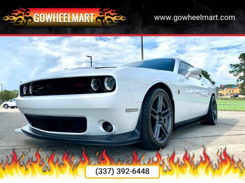 2016 Dodge Challenger for sale at GOWHEELMART in Leesville LA