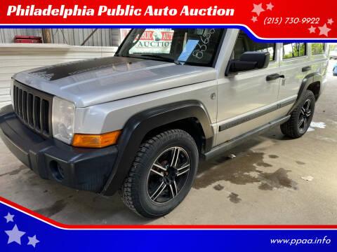 2006 Jeep Commander for sale at Philadelphia Public Auto Auction in Philadelphia PA