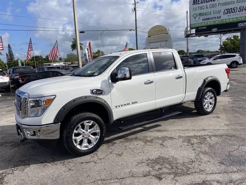 2019 Nissan Titan XD for sale in Homestead, FL