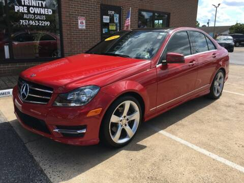 2014 Mercedes-Benz C-Class for sale at Bankruptcy Car Financing in Norfolk VA