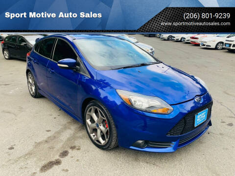 2014 Ford Focus for sale at Sport Motive Auto Sales in Seattle WA