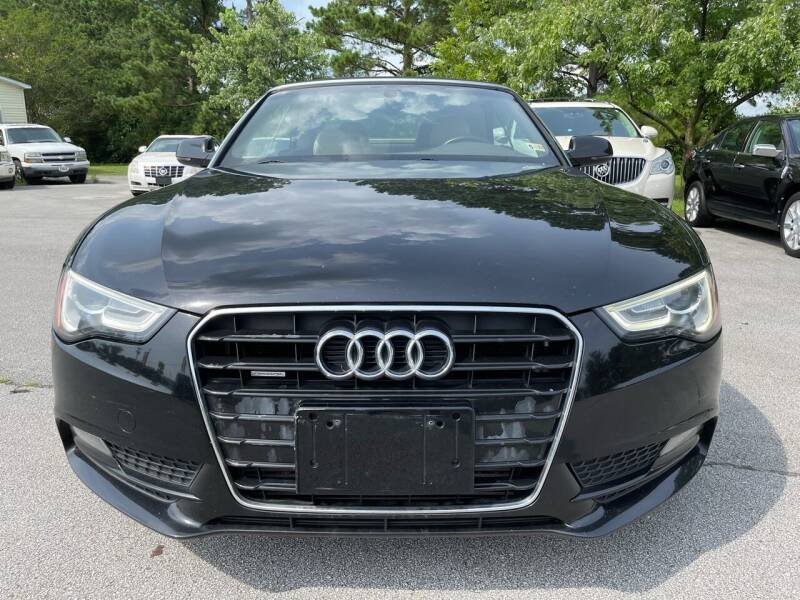 2013 Audi A5 for sale at East Carolina Auto Exchange in Greenville NC