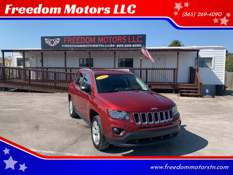 2016 Jeep Compass for sale at Freedom Motors LLC in Knoxville TN