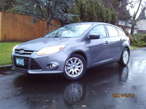 2012 Ford Focus for sale at Redline Auto Sales in Vancouver WA