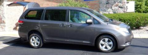 2012 Toyota Sienna for sale at Mobility Motors LLC - A Wheelchair Van in Battle Creek MI