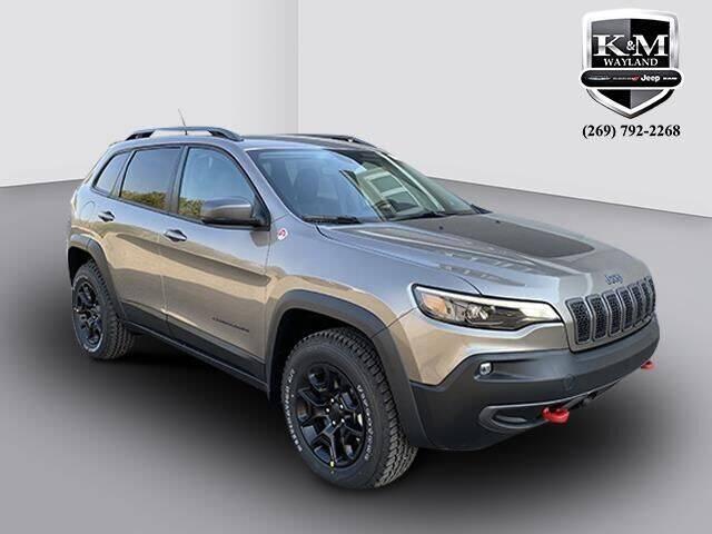 2021 Jeep Cherokee for sale at K&M Wayland Chrysler  Dodge Jeep Ram in Wayland MI