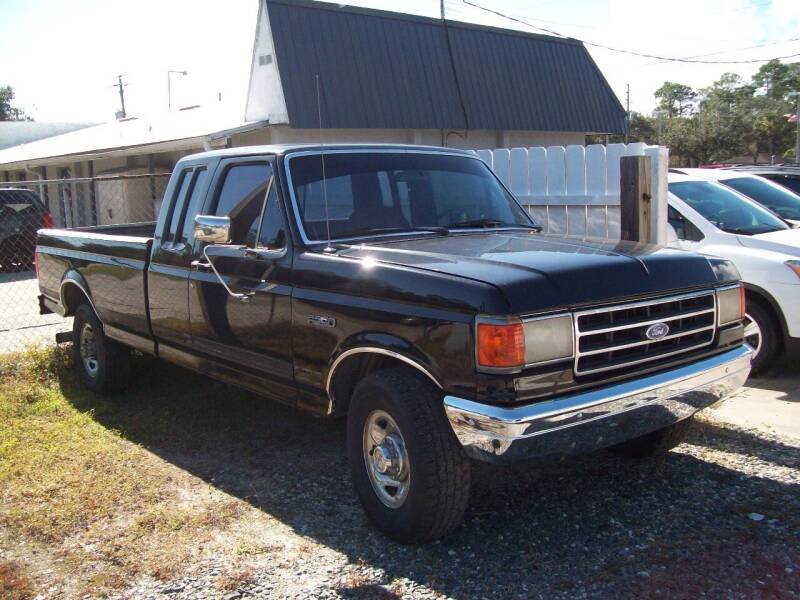 1991 Ford F-250 for sale at LONGSTREET AUTO in St Augustine FL