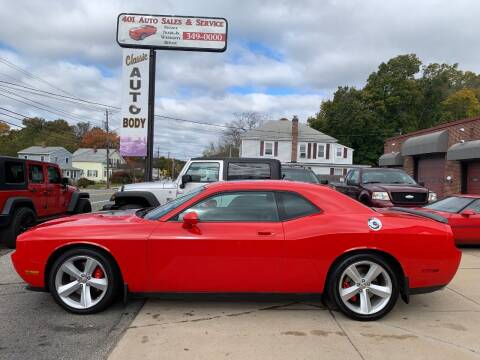 2010 Dodge Challenger for sale at 401 Auto Sales & Service in Smithfield RI