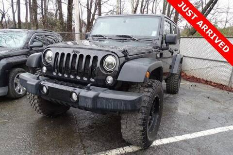 2017 Jeep Wrangler Unlimited for sale at Brandon Reeves Auto World in Monroe NC