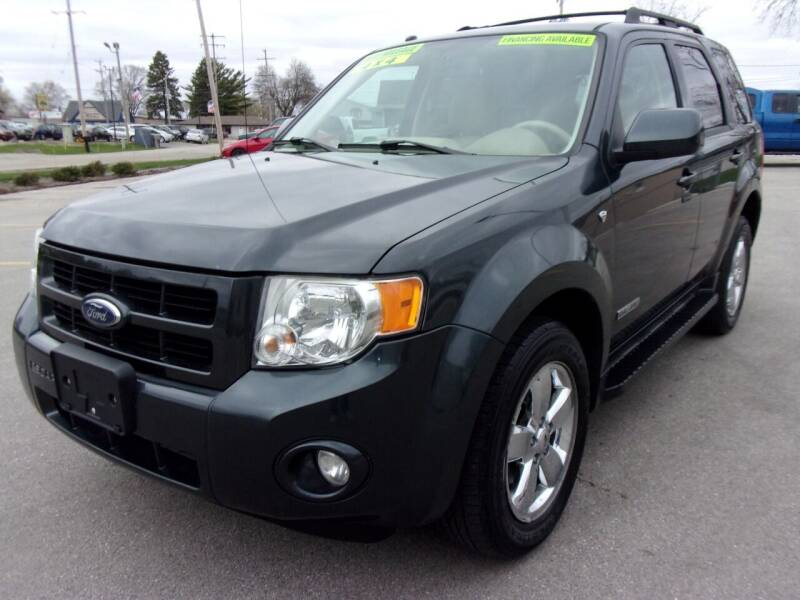 2008 Ford Escape for sale at Ideal Auto Sales, Inc. in Waukesha WI