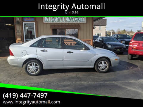 2004 Ford Focus for sale at Integrity Automall in Tiffin OH
