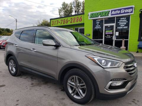 2018 Hyundai Santa Fe Sport for sale at Empire Auto Group in Indianapolis IN