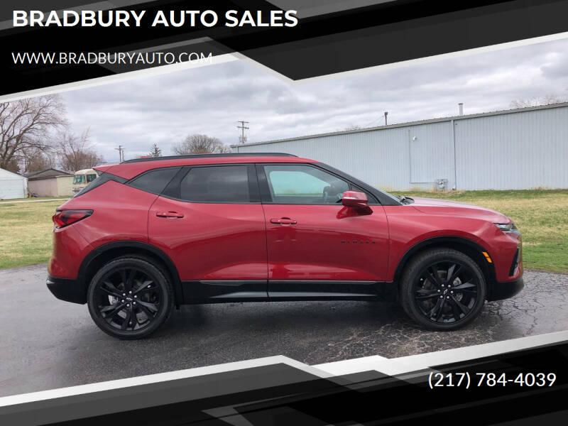 2020 Chevrolet Blazer for sale at BRADBURY AUTO SALES in Gibson City IL