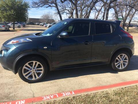 2014 Nissan JUKE for sale at RP AUTO SALES & LEASING in Arlington TX