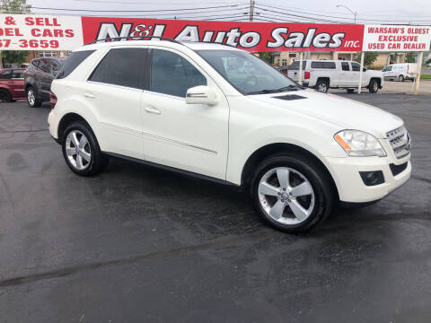 2011 Mercedes-Benz M-Class for sale at N & J Auto Sales in Warsaw IN