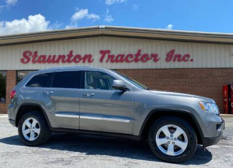 2012 Jeep Grand Cherokee for sale at STAUNTON TRACTOR INC in Staunton VA
