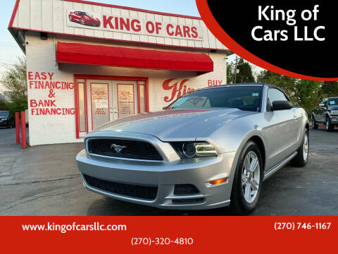 2014 Ford Mustang for sale at King of Cars LLC in Bowling Green KY