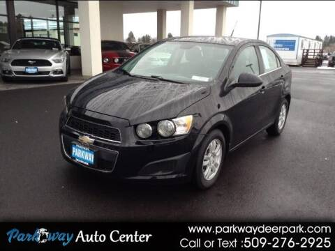 2012 Chevrolet Sonic for sale at PARKWAY AUTO CENTER AND RV in Deer Park WA