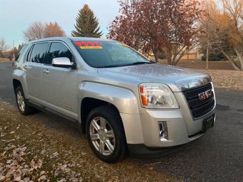 2014 GMC Terrain for sale at BELOW BOOK AUTO SALES in Idaho Falls ID