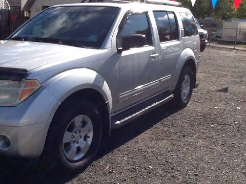2005 Nissan Pathfinder for sale at Lance Motors in Monroe Township NJ