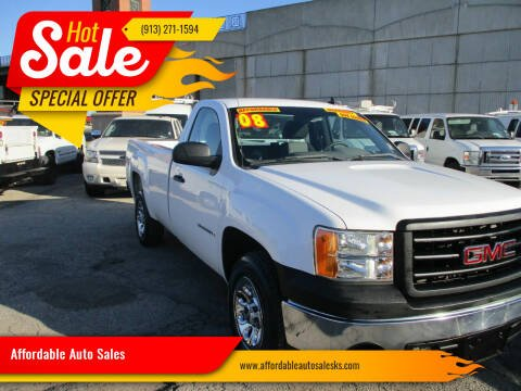 2008 GMC Sierra 1500 for sale at Affordable Auto Sales in Olathe KS