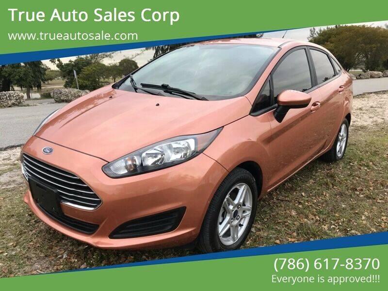 2017 Ford Fiesta for sale at True Auto Sales Corp in Miami FL